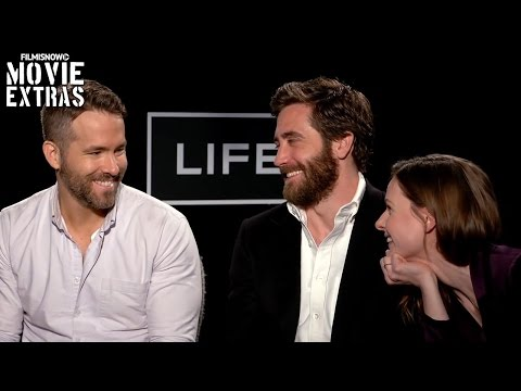 Life | Q&A with Ryan Reynolds, Rebecca Ferguson and Jake Gyllenhaal