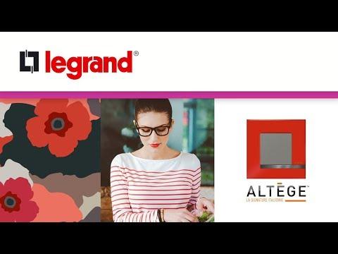 Altège, la signature italienne des nouveaux interrupteurs et prises Bticino