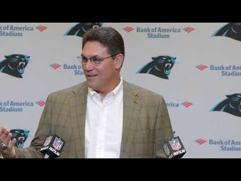 Ron Rivera Gets Emotional in Final Press Conference | Panthers