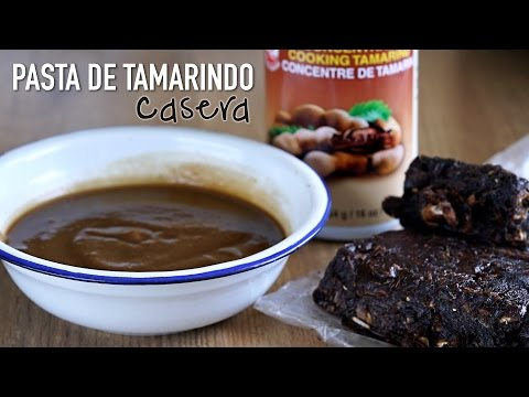 Como hacer: Pasta de tamarindo casera - How To Make Homemade Tamarind Paste l Kwan Homsai