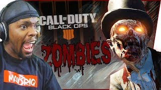 My FIRST Game Of Zombies! Ft. Trent - COD Black Ops 4 Zombies