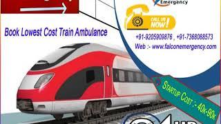 Get Delhi and Kolkata Train Ambulance with All Types of Unique Equipment