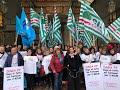 Scuola: sit-in sindacati torinesi per precari e Dsga