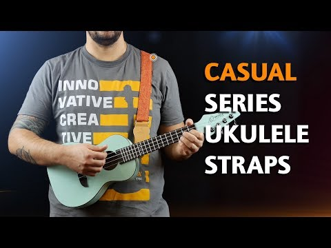 ORTEGA GUITARS | COTTON STRAPS FOR UKULELE (CASUAL SERIES)