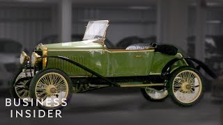 Inside A $45 Million Car Collection With Over 400 Classic Cars