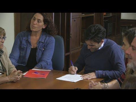 El intendente firmó convenios para que se desarrolle el Programa Barrio Cultura