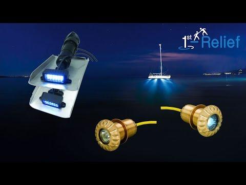 1st-Relief zeigt Auswahl und Installation von Unterwasserbeleuchtung für Boot oder Yacht