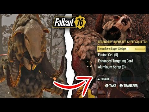 Fallout 76 | How to Instantly Complete the Imposter Sheepsquatch Event!