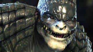 BATMAN Vs. KILLER CROC Full Boss Fight - Batman Arkham Origins