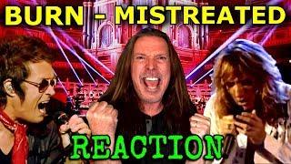 Vocal Coach Reacts To Deep Purple - Glenn Hughes - David Coverdale - Burn - Mistreated - Ken Tamplin
