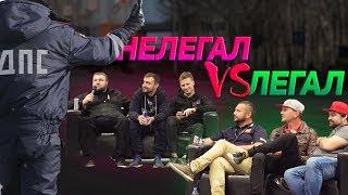 УЛИЧНЫЕ гонщики vs ДРИФТЕРЫ //Борщ и Вахрушев VS Семенюк и Шиков