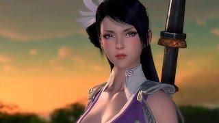 Moonlight Blade - Female ShenWei lvl 19~37 - CBT3 - CN
