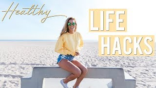Healthy Life Hacks | My Tips Everyone Should Know!