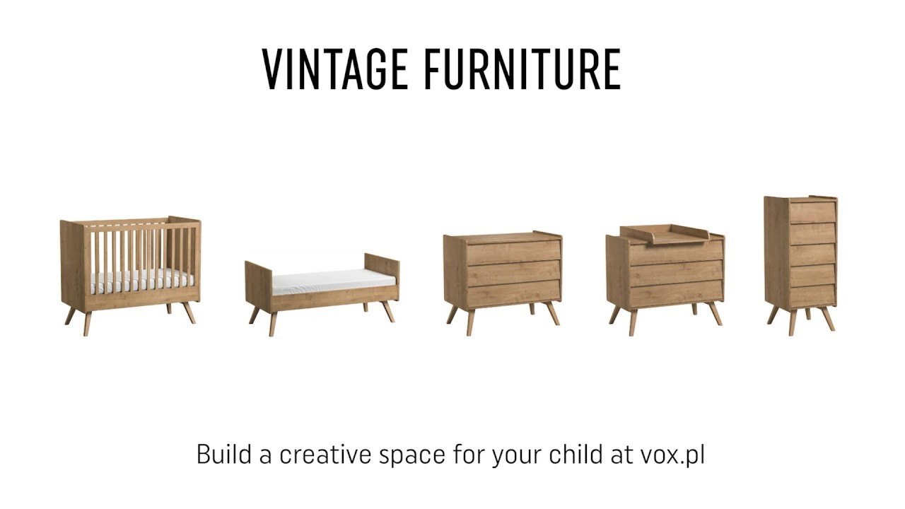Vox Vintage Nursery Furniture Set