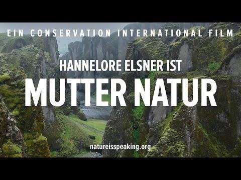 Die Natur spricht - Hannelore Elsner ist Mutter Natur