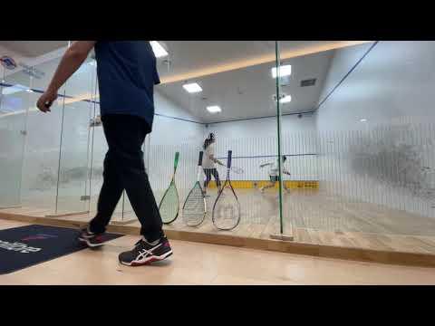 오웬클럽 OwenClub Squash 지유미(구력5개월) vs 장혜수(구력5개월)