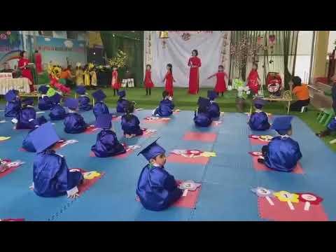 Mẹ mang xuân về Hoàng Nhung và nhóm múa MN Tây Sơn - Tiền Hải - Thái Bình