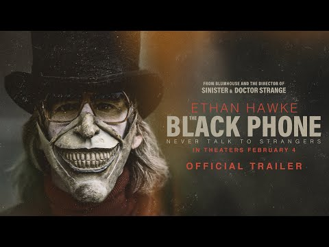 The Black Phone Trailer Starring Ethan Hawke