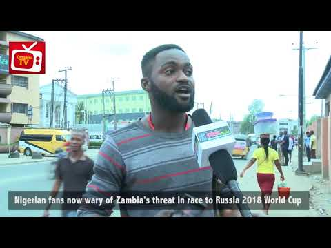 "VIDEO: Are the Super Eagles now ""AFRAID"" of Zambia? – Nigerians React"