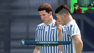 FIFA 18 ITA | Cagliari Vs Spal | FIFA 18 Gameplay