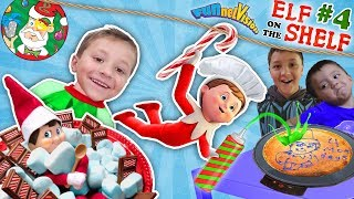 ELF on the SHELF #4 is Floating Magic, Wall Present & Chef Buddy FUNnel V Fam Christmas