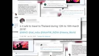 Thailand is safe to travel (COVID-19 virus)