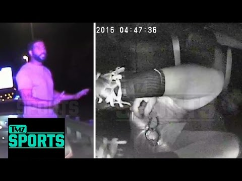 Austin Seferian-Jenkins Dashcam Got Himself Into DUI Arrest: I Gotta Take a Huge S*** | TMZ Sports