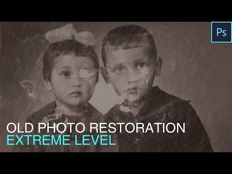 Old Photo Restoration Extreme Level by FixThePhoto