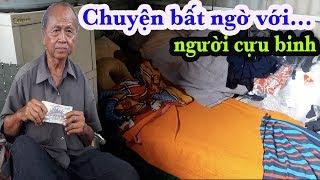 Xem cảnh sống lây lắt và hỗ trợ yêu thương cho người cựu binh già trong bãi xe Sài Gòn - Guufood