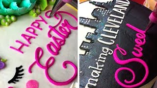 HOW TO WRITE ON CAKES