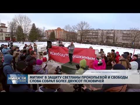 11.02.2019 / На митинг в защиту свободы слова пришли более двухсот человек