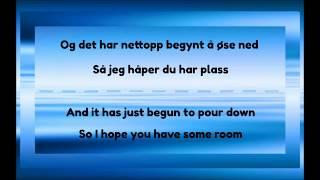 Cezinando   Håper Du Har Plass   Lyrics & English Translation
