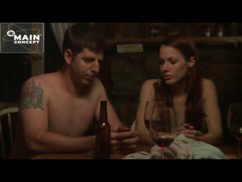 """Strip poker"" a scene from the feature film ""Welcome to the Cabin"" starring Matthew Corbett Davis"