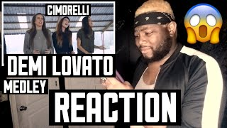 CIMORELLI - DEMI LOVATO MEDLEY | REACTION