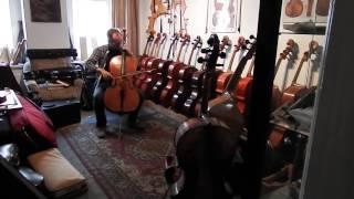 Cello John Werro um 1930