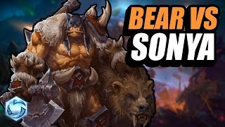 Rexxar - misha fights a sonya // Road to Grandmaster // Heroes of the Storm
