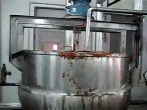 Tomato Ketchup Machine