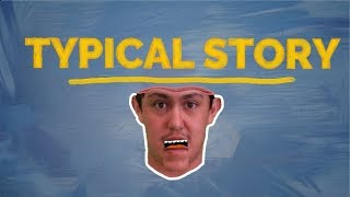 Hobo Johnson   Typical Story (Lyrics Video)