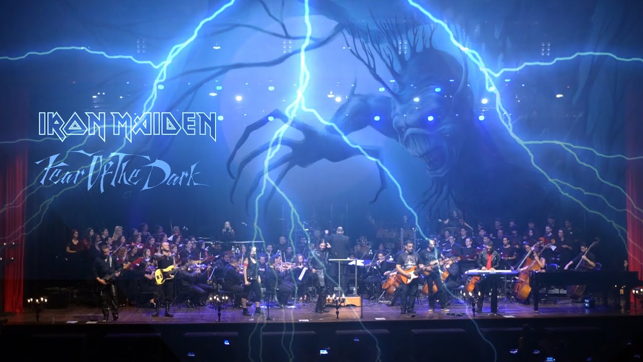 Fear of the Dark (Iron Maiden) performed by Heaven's Guardian & Youth Symphonic Orchestra of Goiás.