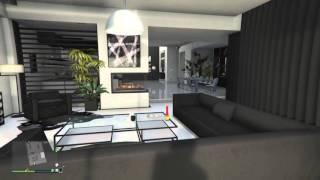 GTA V Online Penthouse Apartment Designs - Monochrome (5 Of 8)