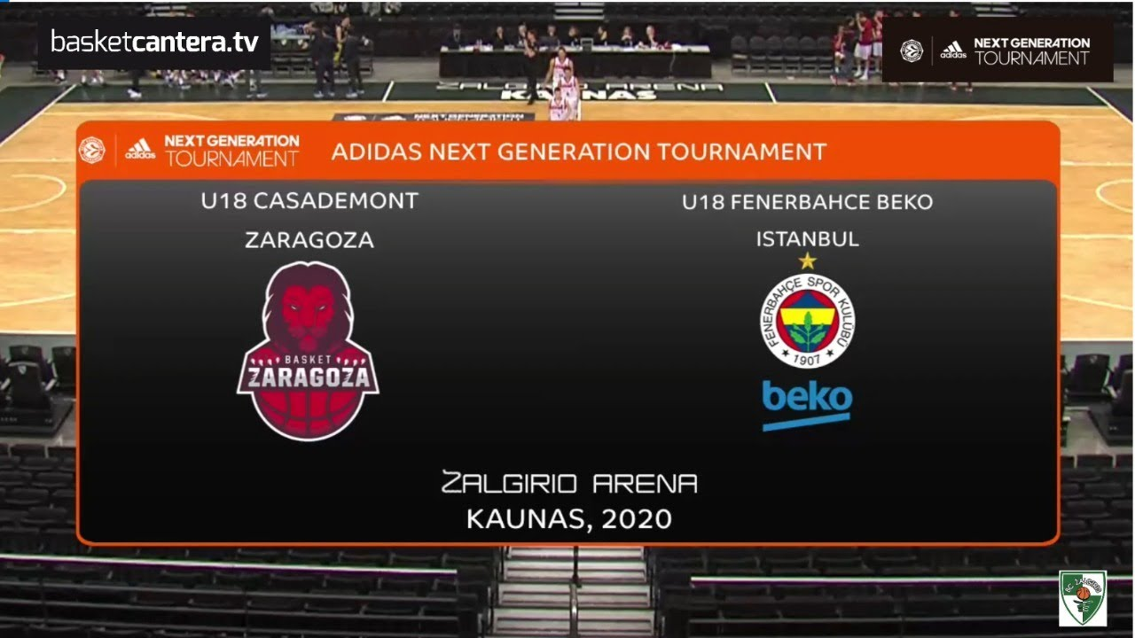 U18M - BASKET ZARAGOZA vs FENERBAHCE.- Euroleague. Adidas Next Generation Tournament (Kaunas 2020)