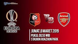 Live Streaming Liga Eropa Babak 16 Besar, Rennes Vs Arsenal FC, Jumat Pukul 00.55 WIB