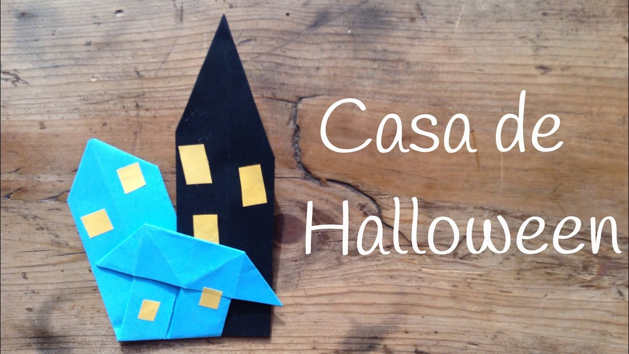 Casa encantada de HALLOWEEN | Manualidades de halloween para niños