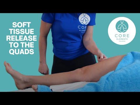 Sports Massage Techniques - Soft Tissue Release to the Quads