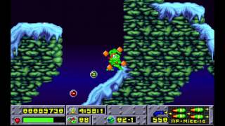 preview picture of video 'Jazz Jackrabbit - Episode X - Holiday Hare '94: 05. Holidaius 3 (1994) [MS-DOS]'