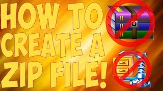 How To Zip A Folder Without Any Software! | Compress Any File! (August 2017) [Hindi/Urdu]