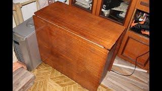 Хотел выбросить старый советский стол. Жена попросила этого не делать, и вот почему