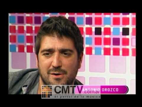 Antonio Orozco video Irremediablemente celos - Estudio CM Agosto 2012