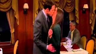 The Big Bang Theory 07x15 - Polibek