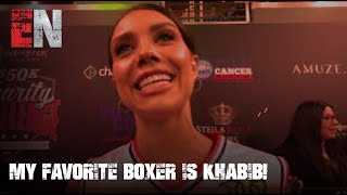 My Favorite Boxer Is Khabib! Says Dancing WIth Starts Star EsNews Boxing